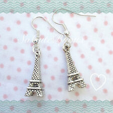 Orecchini Torre Eiffel Earrings Argento Parigi Cute Vintage Romantic Paris Love