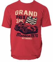 Grand Prix T Shirt Formula F1 One Racing Tshirt Mens Gift Motorsport S-3XL