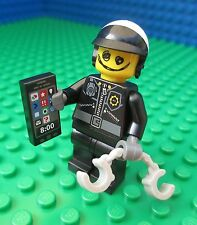 Lego MOVIE Scribble-Face Bad Cop City Town Police Minifig Minifigure 71004