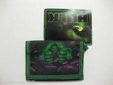 "Hulk Tri-Fold Wallet 4.5"" x 3.25"" ( Black/Green ) BRAND NEW WITH TAGS"
