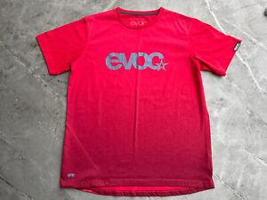 Mens Evoc MTB / DH Short Sleeved Jersey Red Medium M