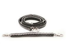 Firefighter Ems Police Paracord Radio Strap Sling 60 With 13 Stabilzer Grey