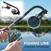Portable Fishing Line Winder Spooler Spooling Station System Fishing Reel Winder