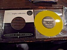 "Monster Zero Black Eye Crazy Alice Yellow Vinyl Split 7"" Single Unplayed"