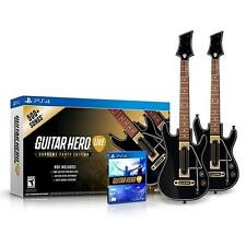 NEW Activision Guitar Hero Live Supreme Party Edition 2PK Playstation 4 PS4 KIDZ