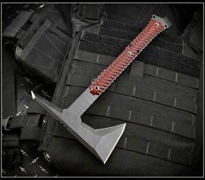 "RMJ Tactical Tomahawk Ragnarok 14"" Black Textured Black Widow Authorized Dealer"