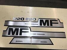 Massey Ferguson 220 tractor decals