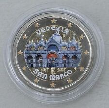 2 Euro Italien 2017 Basilica di San Marco - Markusdom in Farbe unz.