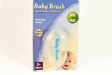 Baby Brush - Infant Finger Toothbrush & Gum Massager (Premium Silicone)