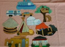 FELT BOARD STORY RHYME TEACHER RESOURCE - HOMES FROM AROUND THE WORLD /HOUSES
