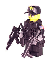 R6S FBI Attacker Ash Custom Rainbow Six Siege Minifigure made with real LEGO®