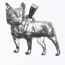 Frenchie French Bulldog Pendant Dog Harris Fine Pewter Made in USA jewelry