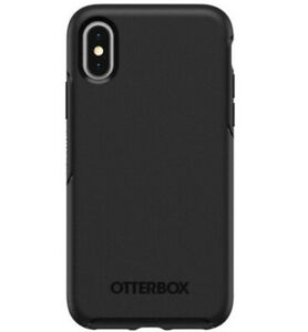 iPhone XS Case Cover - Otterbox Symmetry Black