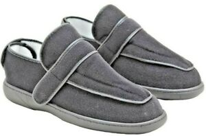 Comfort Slipper / House Footwear / Wide Fit Orthopaedic With Rear Opening (PAIR)
