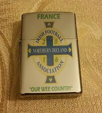 Northern Ireland football (Green & White Army) France 2016 cigarette lighter.