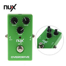 ✓ NUX OD-3 OVERDRIVE ELECTRIC GUITAR EFFECT PEDAL GREEN ADJUST SIGNAL FREQUENCY