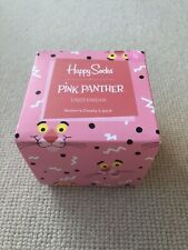 """""""Happy Socks"""" NEW Women's Pink Panther Pants 2 pack Small (8)"""