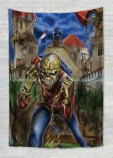 wall hanging  room decoration pictures Eddie Iron Maiden tapestry cloth poster