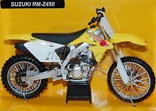 Suzuki RM-Z450 2011 M1:12 Standmodell von NewRay DIE-CAST Serie 57383