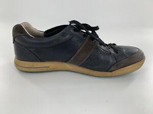 Men's ECCO Street Retro Blue/Light Blue Golf Shoe Size 44 US 11-11.5