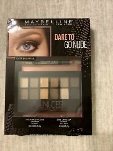 Maybelline New York The Nudes Eye Shadow Palette And Eye Liner Pencil Set