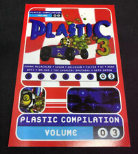 Plastic Compilation, Vol. 3 by Various Artists Promotional STICKER/Postcard