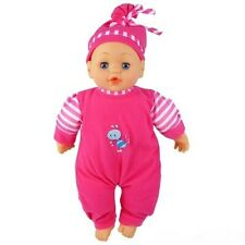 """NEW MY 1ST BABY DOLL 12"""" SPEAKING & CRYING EYES CLOSIN BATTERy INCLUDED GIRL TOY"""