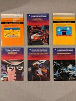 Various TI 99 4A Game Manuals