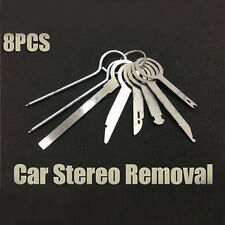 8× Car AUTO Stereo CD Radio Head Unit Release Removal Repair Key Tool Audio Hot*