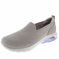 Skechers Go Walk Air Taupe/Lavender Womens Walking Comfort Shoes Size 6M