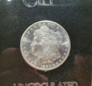 1883 CC GSA MORGAN DOLLAR GRADED MS 64 PL BY ANACS, UPGRADE POTENTIAL!!!!!