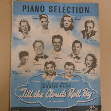 Selección de piano hasta que las nubes Rollo Por Jerome Kern