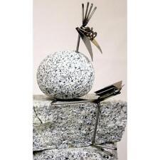 Kantenhocker SV Buch ca. 25cm hoch  aus Granit und Edelstahl