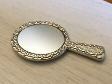 Vintage Estate Silvertone Pocket Purse Mirror