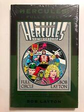 MARVEL Premiere Classic Vol 34: HERCULES Full Circle HARDCOVER Ltd Ed /781 NEW
