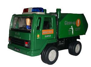 India Mumbai Clean up truck Dumper rubbish truck toy car model
