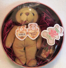 Tug-a-heart Teddies By Enesco 1999 Limited Edition Holiday Collectible Tin