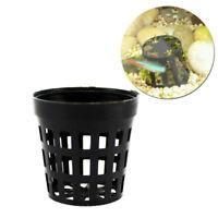 20PCS Mesh Aquarium Plant Pot Potlive aquatic plants potted java fern pot L6C0