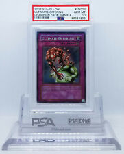 YUGIOH CHAMPION PACK CP04-EN002 ULTIMATE OFFERING SUPER RARE PSA 10 GEM MINT #*