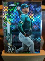 2020 TOPPS CHROME JESUS LUZARDO XFRACTOR RC ROOKIE Oakland Athletics