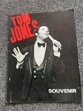 More details for  tom jones souvenir programme 1060's