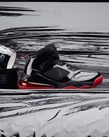 Nike Air Jordan Mars 270 BRED CD7070 006 Black Patent/Red Air Max 270 Sz 12 New