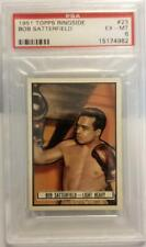 1951 TOPPS RINGSIDE BOB SATTERFIELD LIGHT HEAVYWEIGHT A#23 EX-MT PSA 6 NM