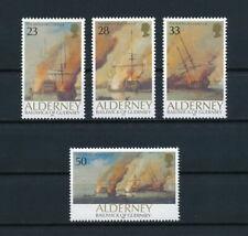 Alderney    65-8 MNH, Battle of La Hogue, 1992
