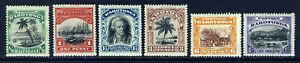 COOK ISLANDS 1920 The Complete Set No Watermark Perf 14 SG 70 to SG 75 MINT