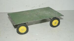 Vintage John Deere Ertl USA 1/16 Scale Farm Tractor Diecast Hay Wagon Implement