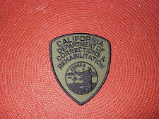 California Department of Corrections and Rehabilitation  Shoulder Patch Subdued