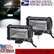 New listing 5 Inch Led Work Light Bar 72W Flood Fog Driving OffRoad Car Truck Light Suv Lamp