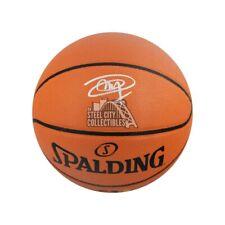 Joel Embiid Autographed Spalding Basketball - Fanatics