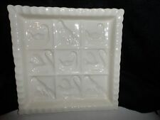 The 1869 Victorian Pottery bread mold with inset bird designs